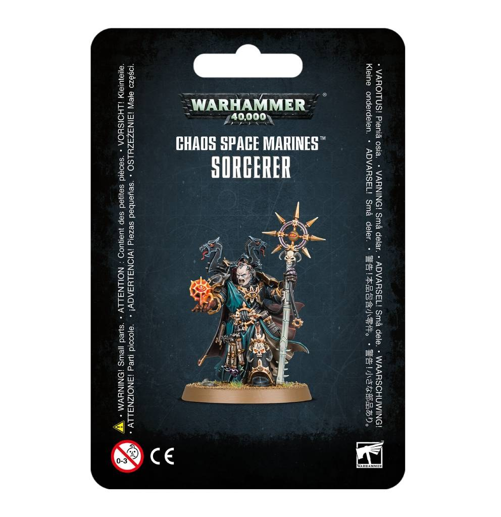 Space Marines du Chaos : Sorcerer