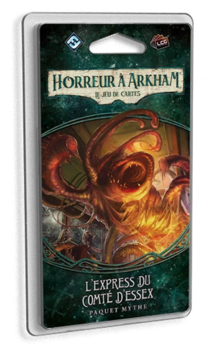 Horreur a Arkham le jeu de cartes: L'express Du Comte D'essex