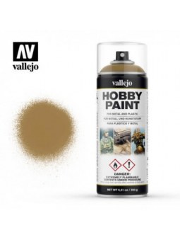 Vallejo: Aerosol Dessert Yellow 400ml