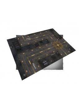 FLG Mats Cyberpunk City 1 6X4