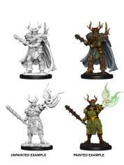 Minis WV10 Male Half-Orc Druid figurine