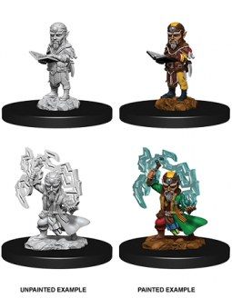 Minis WV9 Male Gnome Sorcerer