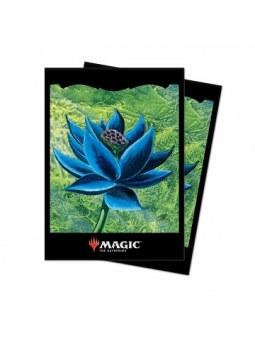 Ultra pro : Deck protector 100 sleeves black lotus