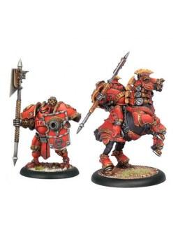 Khador Mow Drakhun Dragoon Solo Box