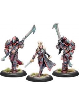 Khador Obavnik Kommander Zerkova & Reaver guard Epic Warcaster