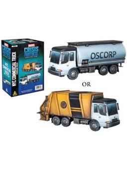 Marvel Crisis Protocol: Garbage Truck/Chemical Truck Terrain Expansion