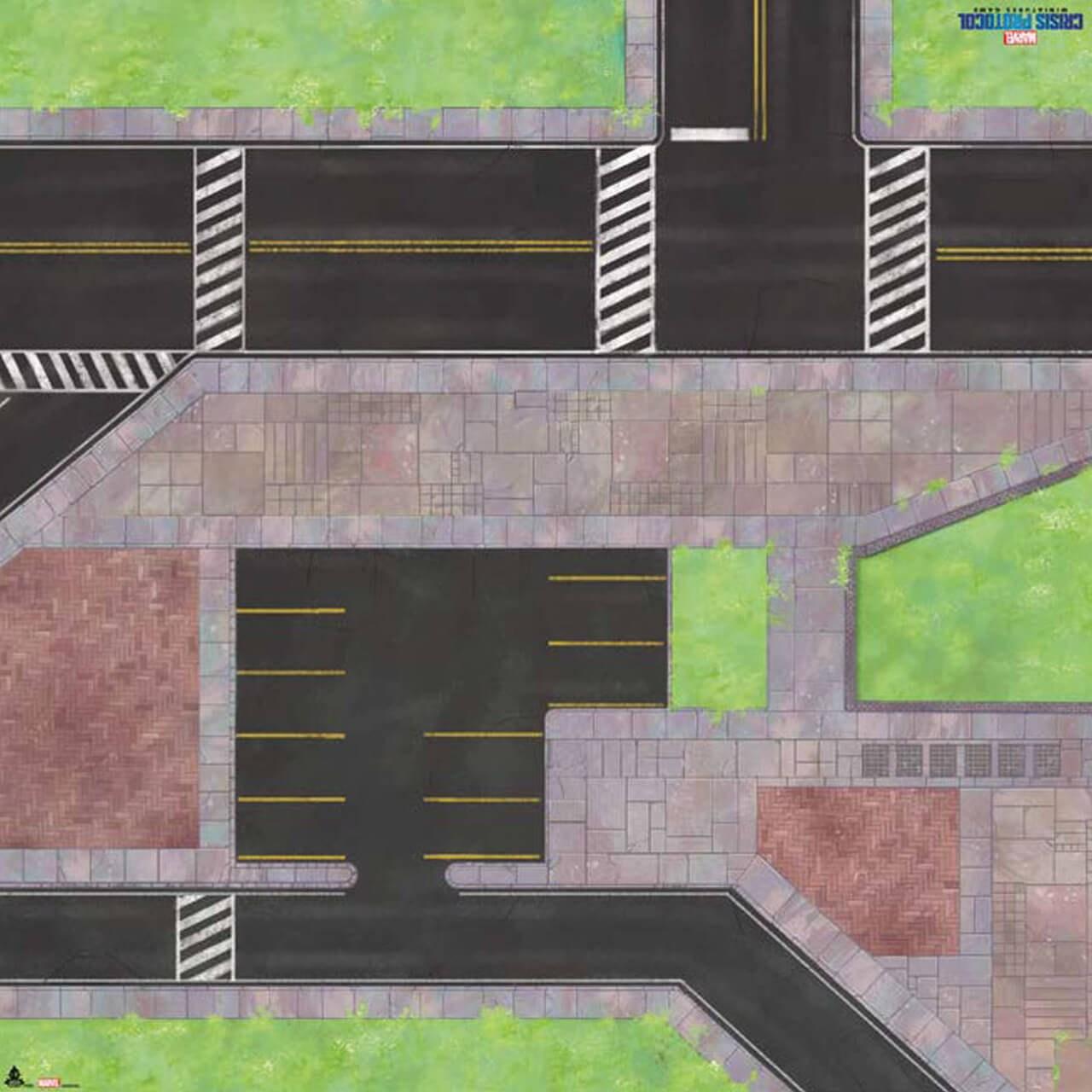 Marvel Crisis Protocol: Midtown Mayhem Game Mat