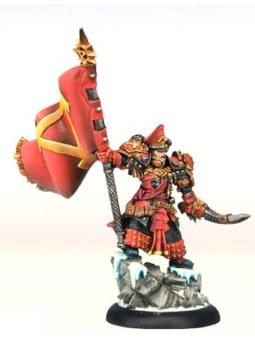 Khador Supreme Kommander Irusk Epic Warcaster