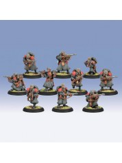 Khador Winter Guard Rifle Corp Unit