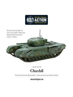 Churchill Infantry Tank Bolt Action