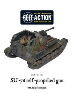 SU-76 Self Propelled Gun bolt action