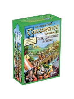Carcassonne Extension Bazars Ponts & Forteresses jeu