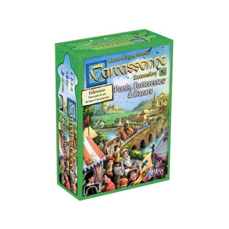 Carcassonne Extension Bazars Ponts & Forteresses jeu