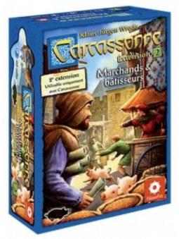 Carcassonne Extension Marchands et Batisseurs jeu