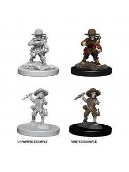 Pathfinder Minis Male Halfling Rogue