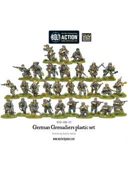 German Grenadiers Bolt Action