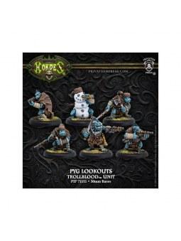 Trollblood Pyg Lookouts Unit horde