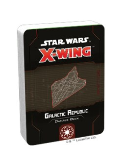 X-Wing 2nd Edition: Galactic Republic Damage Deck