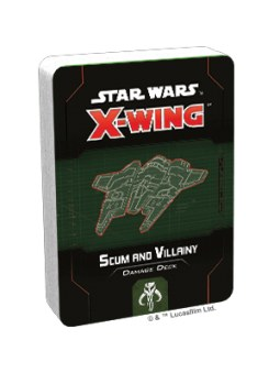 X-Wing 2nd Edition: Scum And Villainy Damage Deck