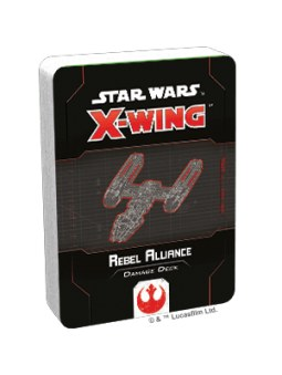 X-Wing 2nd Edition: Rebel Alliance Damage Deck