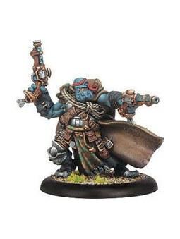 Trollblood Trollkin Jarl Skuld Warlock horde