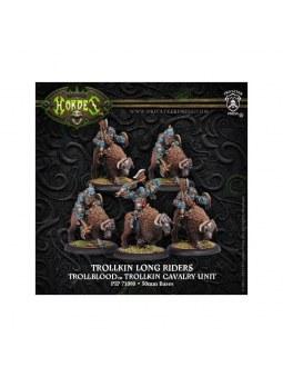 Trollblood Trollkin Long Riders Unit (5) horde