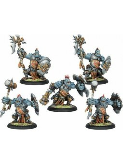 Trollblood Trollkin Warders Unit horde