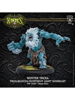 Trollblood Winter Troll Light Warbeast Resculpt horde