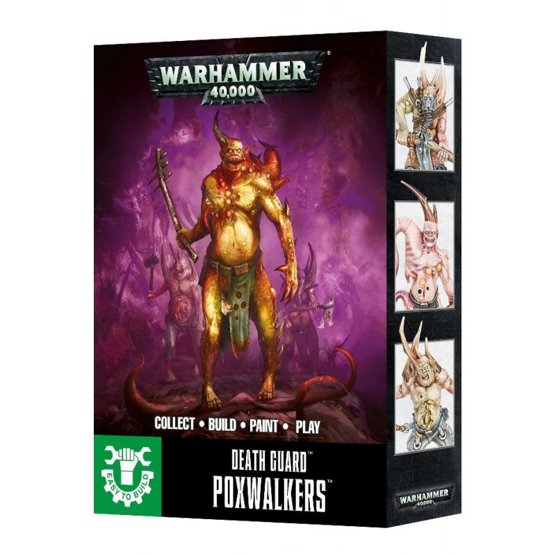 Death Guard :Poxwalkers - Easy To Build