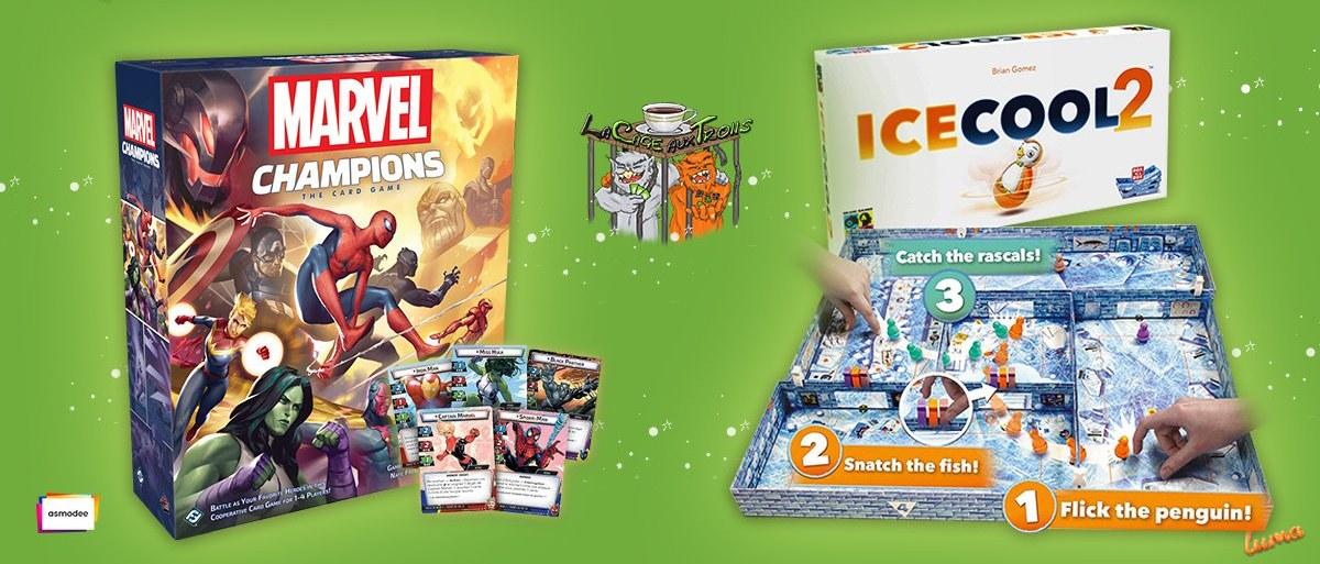 Lundi découverte : Marvel champions Vs Icecool