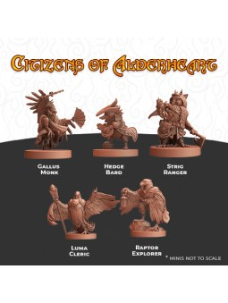 Humblewood Minis: Citizens of Alderheart