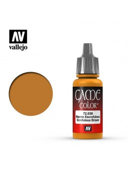Vallejo: Game Color Scrofulous Brown (17ml)