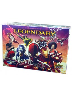 Marvel Legendary Civil War jeu