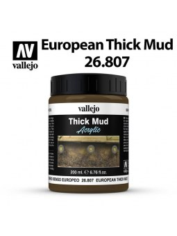 Vallejo: Diorama Textures European Thick Mud