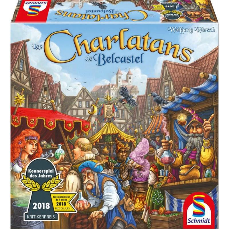 Les Charlatans de Belcastel jeux