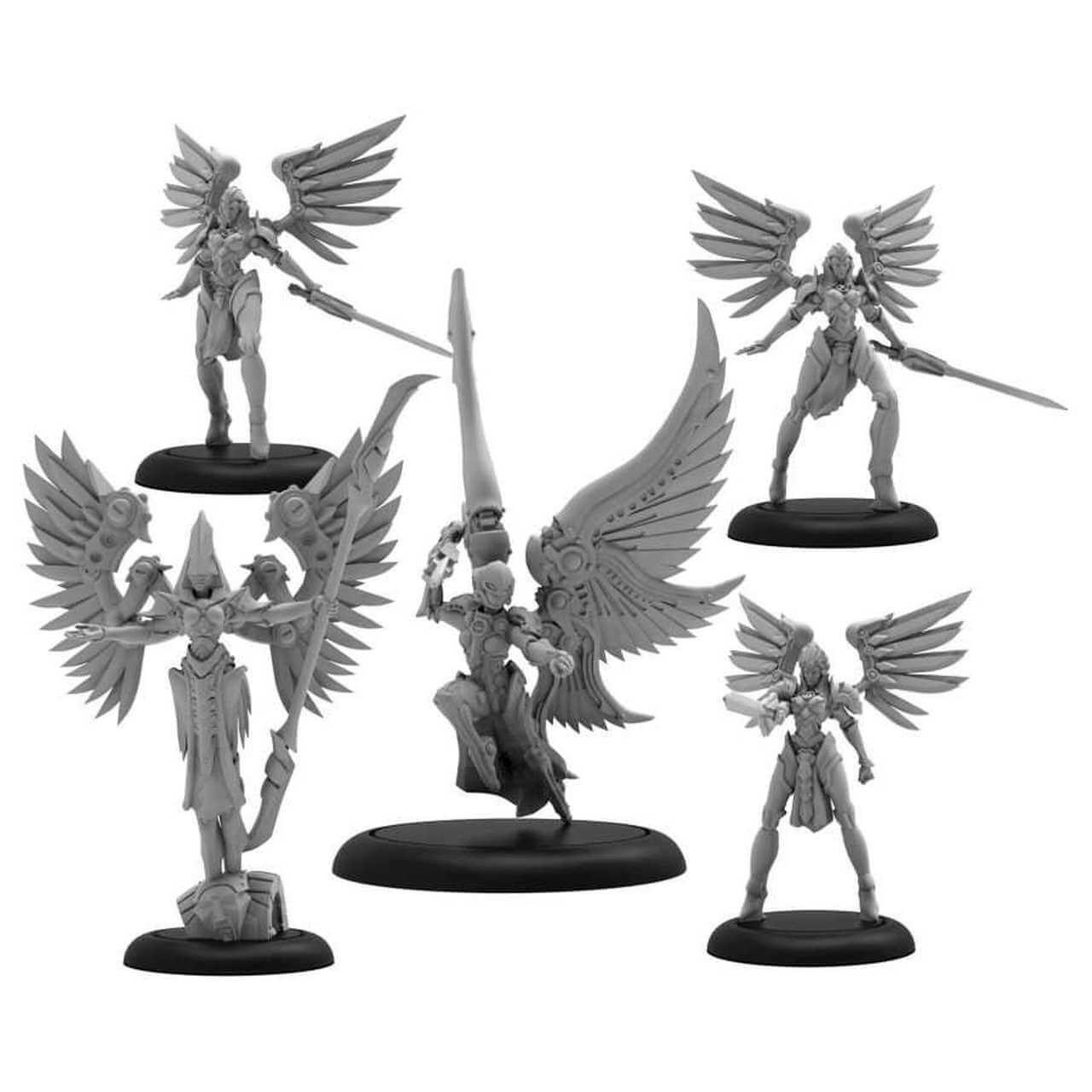 Convergence Archnumen Aurora Mercenary Warcaster / Solo
