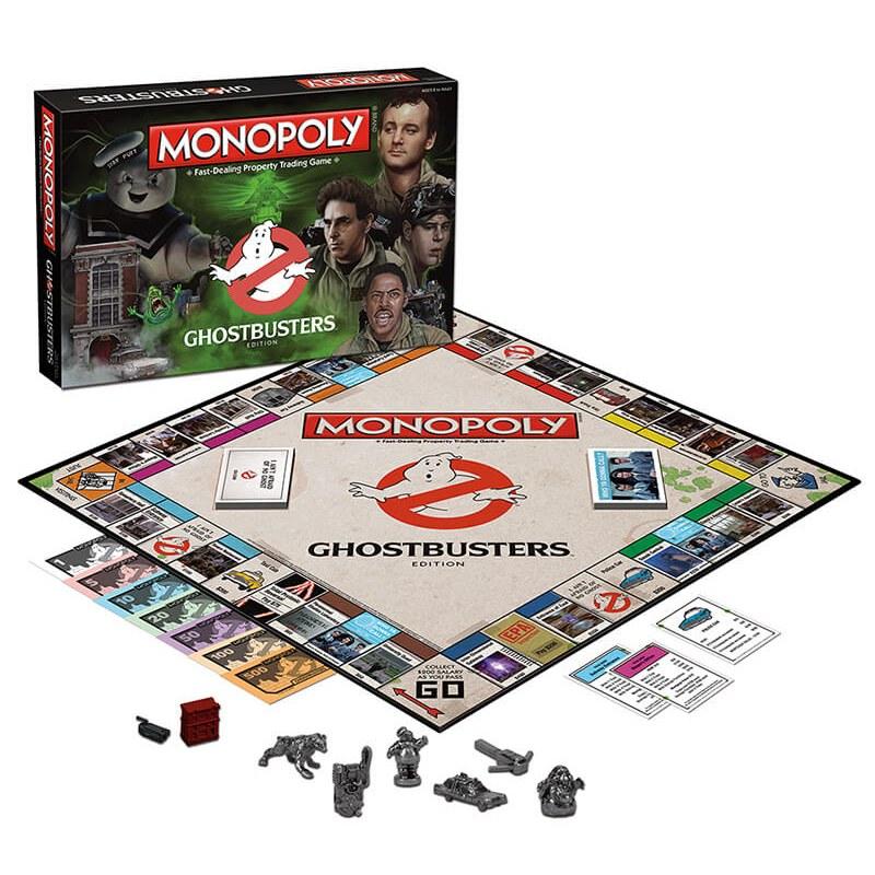 Monopoly Ghostbusters jeu