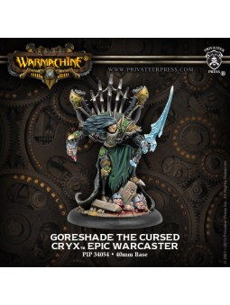 Cryx Goreshade Cursed Epic Warcaster
