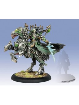 Cryx Goreshade Lord Of Ruin Cavalry Epic Warcaster