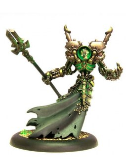 Cryx Iron Lich Asphyxious Warcaster warmachine