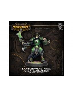 Cryx Lich Lord Venethrax Warcaster