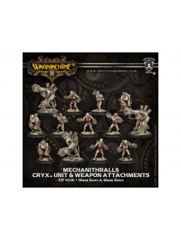 Cryx Mechanithralls (10+3) Unit & Weapons Box