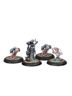 Cryx Necro-Surgeon & Stitch Thralls warmachine