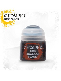 Citadel : Abaddon Black base