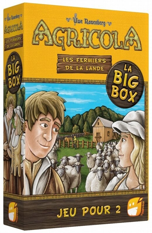 Agricola: Big Box 2 Joueurs - Jeu De Base + 2 Extension