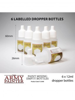 Army Painter Empty Mixing Bottles
