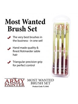 Wargamers Most Wanted Brushes