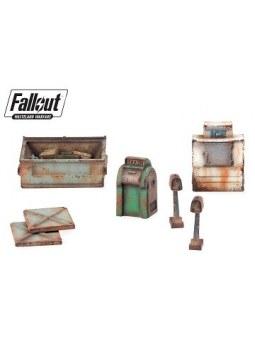 Fallout Wasteland Warfare: Boston Street Scatter