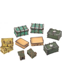 Fallout Wasteland Warfare: Cases And Crates
