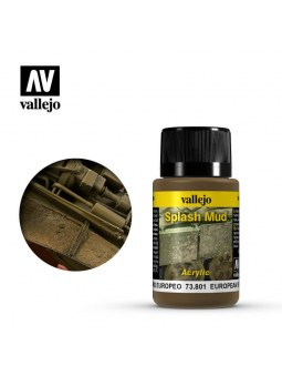Vallejo: Weathering European Splash Mud (40ml)
